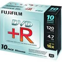 Fuji DVD+R Slim Case X 10Pack (4.7GB 16X)