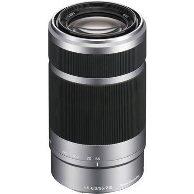 Sony E 55-210mm f4.5-6.3 OSS Silver - SEL55210.AE