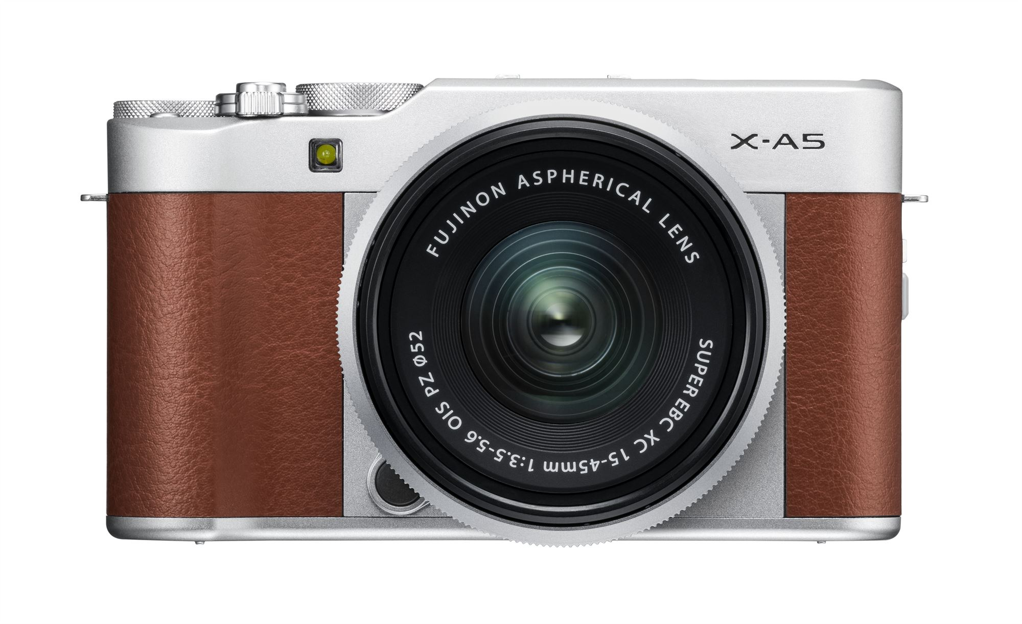 X-A5_Brown_Front XC15-45mm