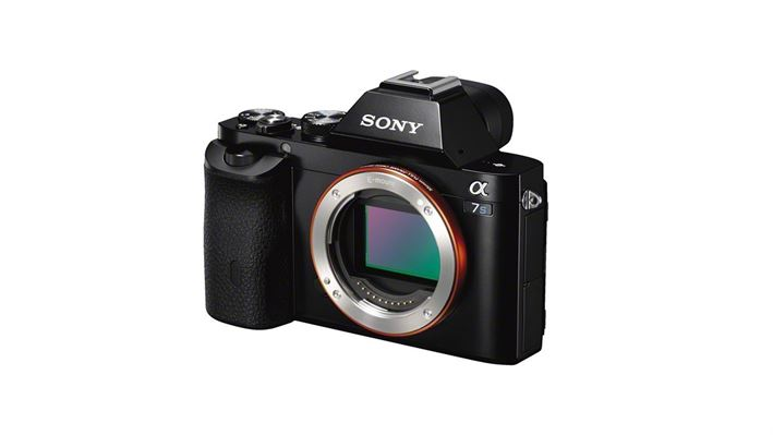Sony Alpha 7S Body Only side