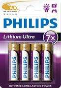 Philips Lithium Ultra AA 4 Pack