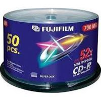 Fuji CD-R X50 700MB 52-Speed Spindle