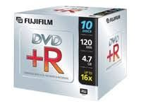 Fuji DVD-R JEWEL CASE X 10 PACK (4.7GB 16X)