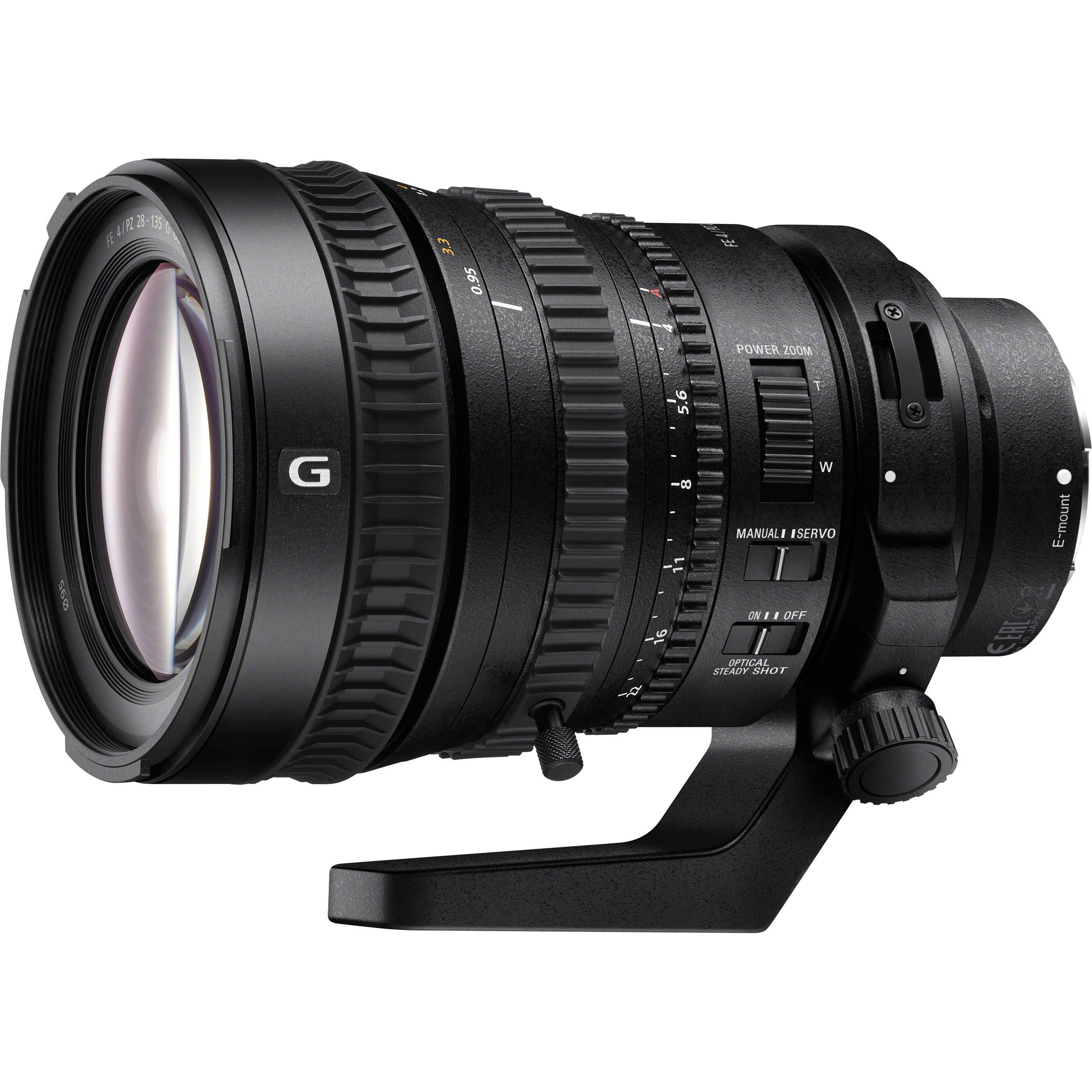 Sony FE PZ 28-135mm F4 G OSS - SELP28135G.SYX