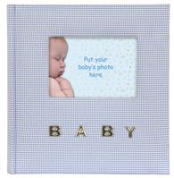 Baby Gingham Blue Q9306338
